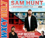 Sam Hunt at BB&T Pavilion on 7/17