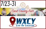7/23-31, Fair Hill, MD – Cecil County Fair