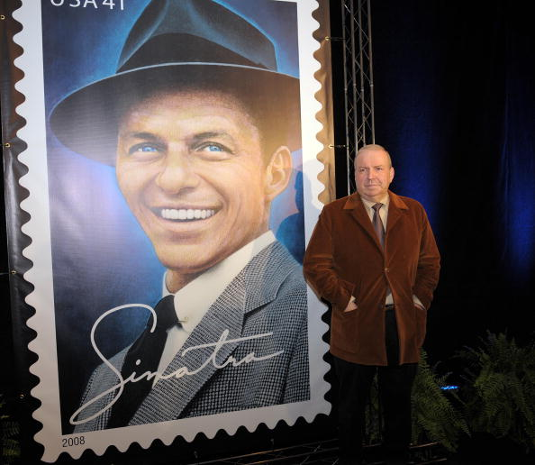 Frank Sinatra's son Frank Jr. poses in f