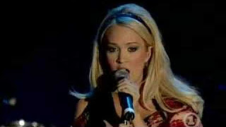 Carrie Underwood and Heart – Alone