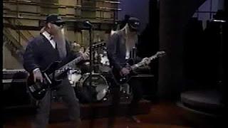 "ZZ Top – Live on Letterman ""Pincushion"""