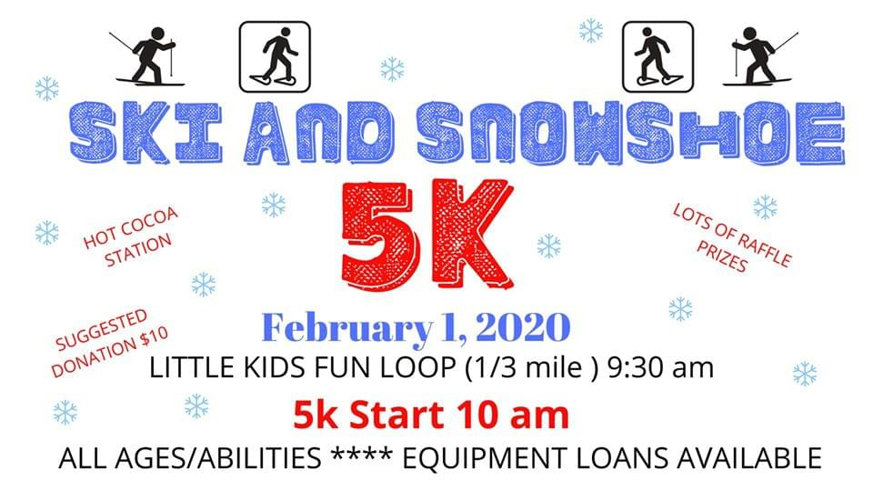 Ski and Snowshoe 5k