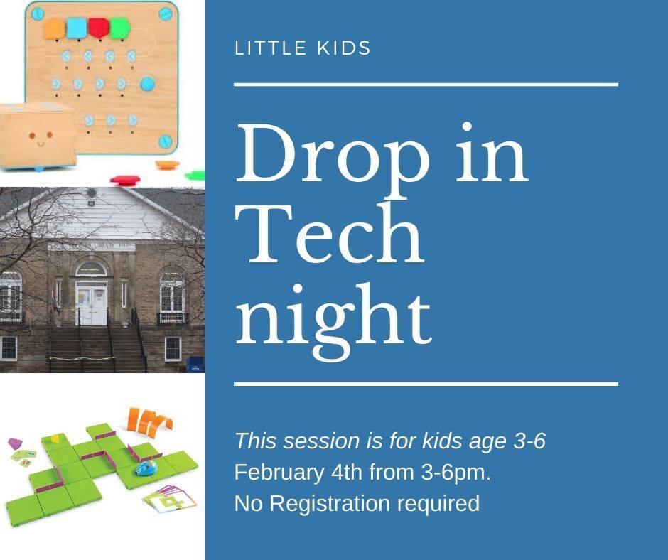 Little Kids Drop in Tech Night