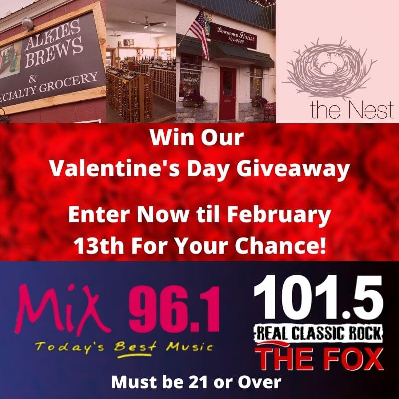 Win Our Valentine's Day Giveaway