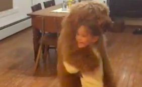 WATCH: Dog Dances With His Little Human