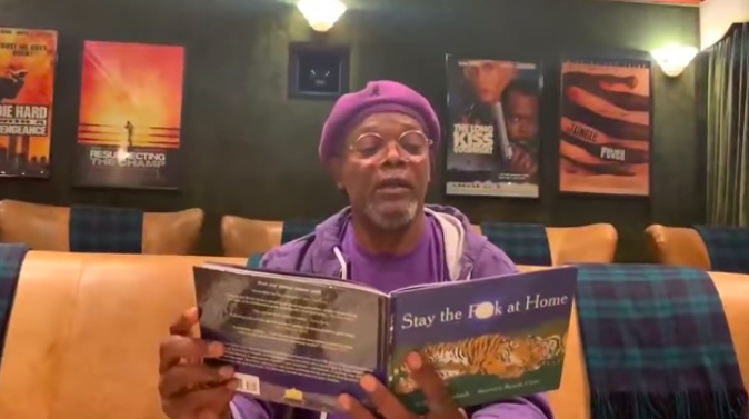 "WATCH: ""Stay The F*ck At Home"" by Samuel L. Jackson"