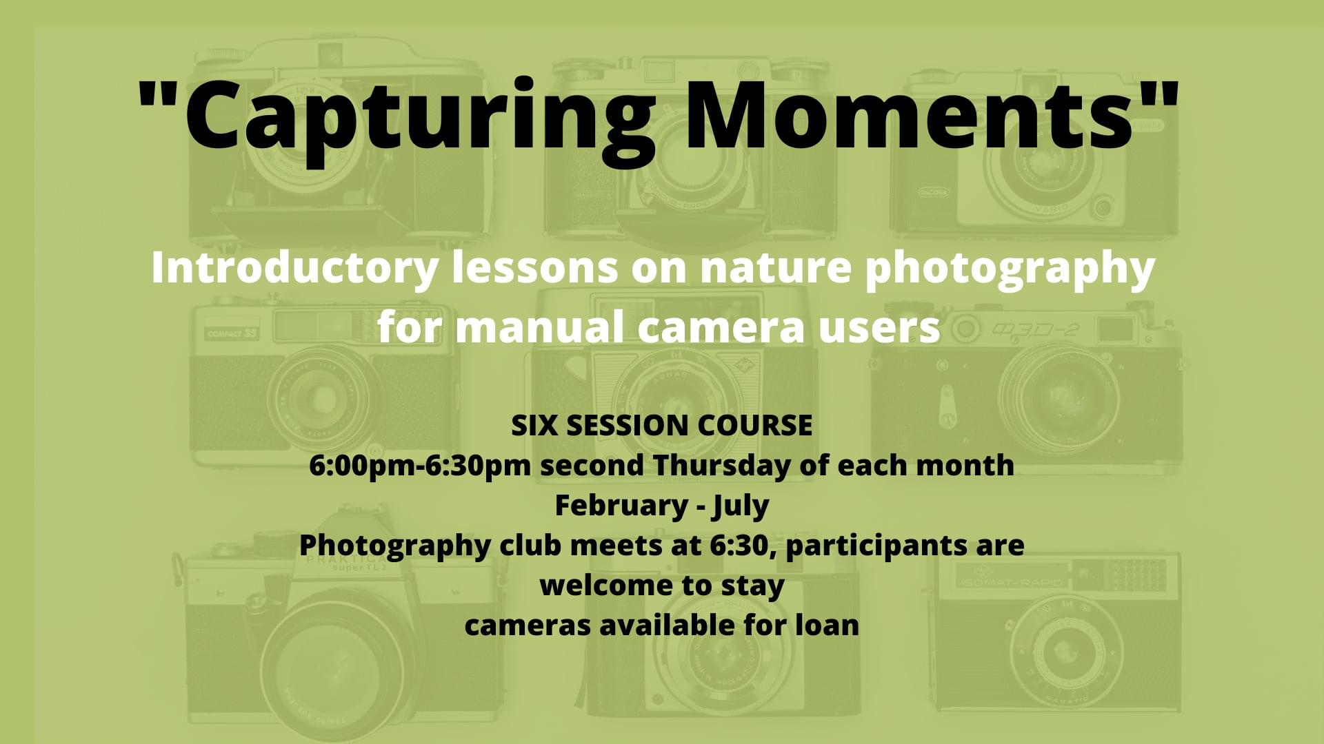 Introductory nature photography course