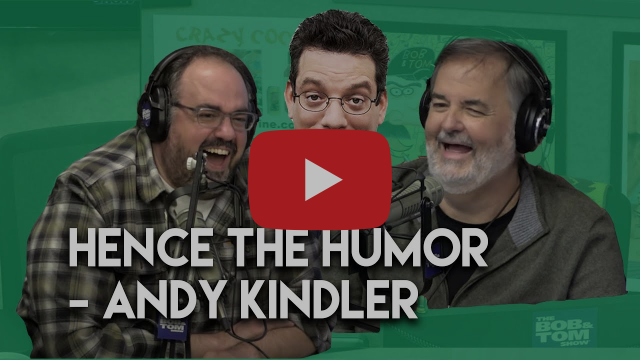 "WATCH: ""Hence The Humor"" with Andy Kindler"
