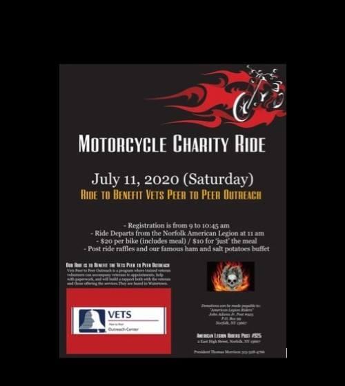 Legion Riders 15th Annual Charity Ride