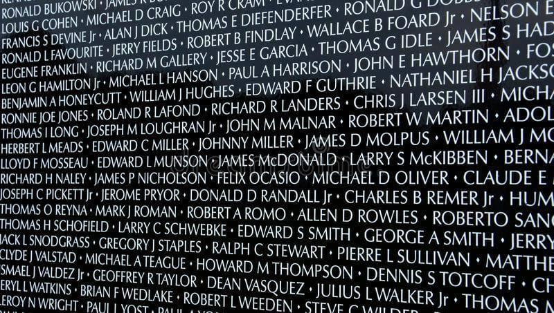 Vietnam Memorial Wall Mobile Display