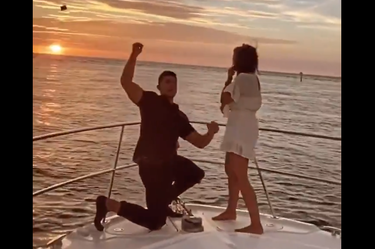 WATCH: The Perfect Proposal Goes Very Wrong