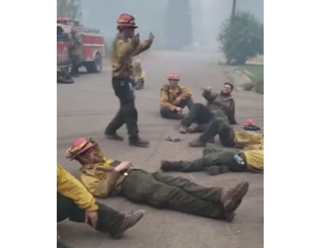 WATCH: Oregon's Grizzly Firefighters Melt Hearts With A Song