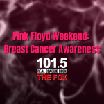 Pink Floyd Weekend 2rd – 4th  Breast Cancer Awareness Month
