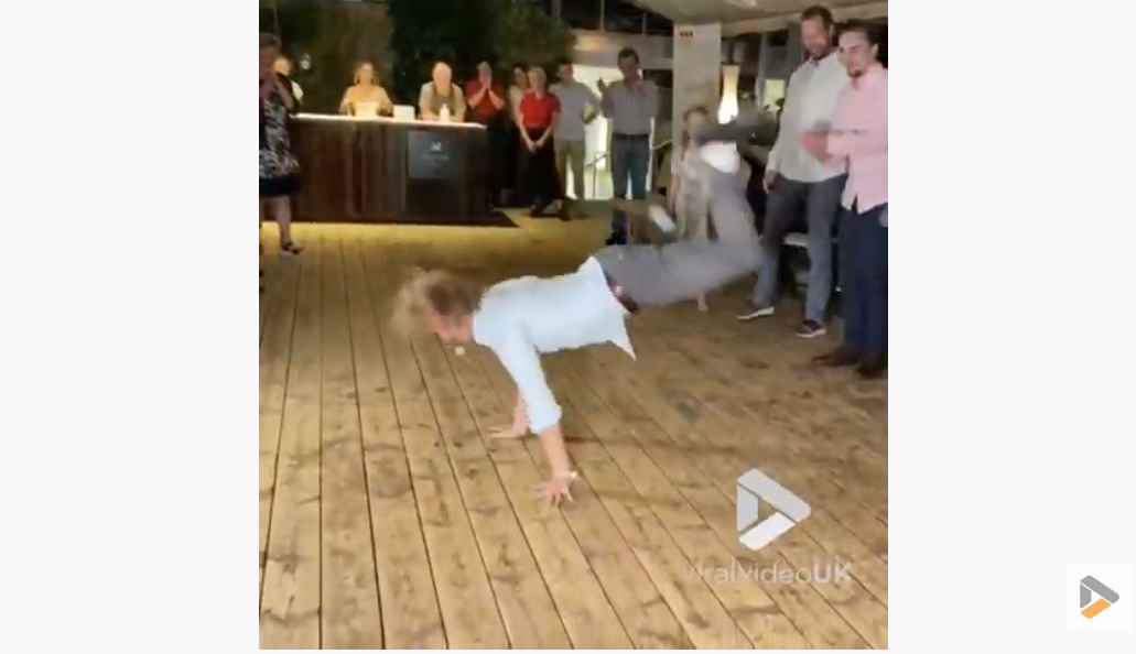 WATCH: Dude Tears Up Dance Floor At Wedding