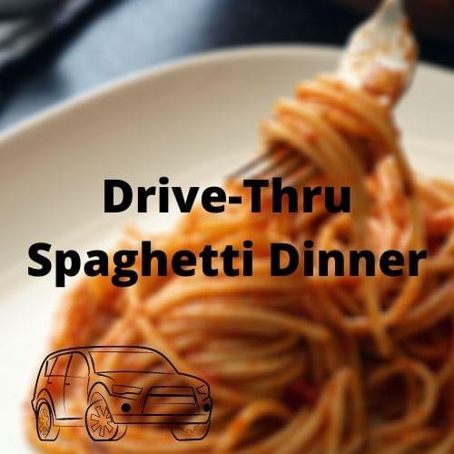 Drive-Thru Spaghetti Dinner