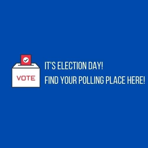 It's Election Day! Find Your Polling Place Here!
