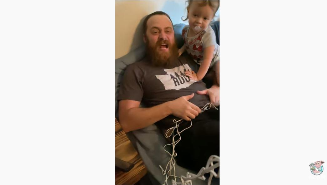 WATCH: Man Tries Labor Pain Simulator With Hilarious Results