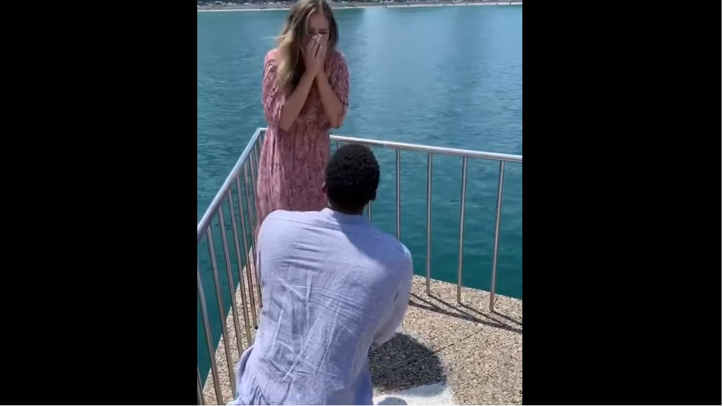 WATCH: Woman Loses It When Her Boyfriend Proposes