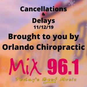 Cancellations & Delays | 11/19