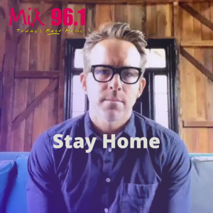 Ryan Reynold's with a Celebrity PSA We Actually Need