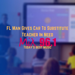 FL Man Gives Car To Substitute Teacher In Need