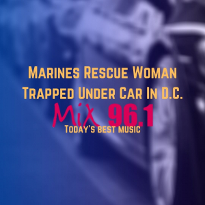 Marines Rescue Woman Trapped Under Car In D.C.