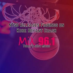 NTSB Releases Findings on Kobe Bryant Crash
