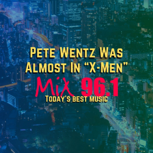 """Pete Wentz Was Almost In """"X-Men"""""""