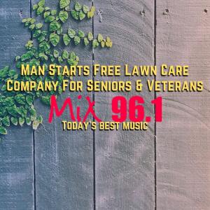 Man Starts Free Lawn Care Company For Seniors & Veterans