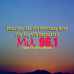 Principal Leaves Personal Note For All 459 Graduates