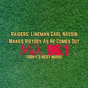 Raiders' Lineman Carl Nassib Makes History As He Comes Out