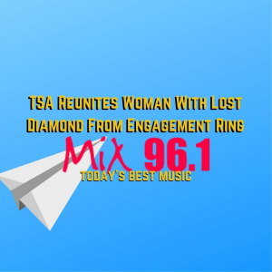 TSA Reunites Woman With Lost Diamond From Engagement Ring