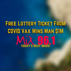 Free Lottery Ticket From COVID Vax Wins Man $1M