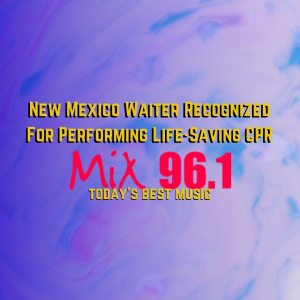 New Mexico Waiter Recognized For Performing Life-Saving CPR