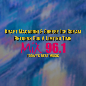 Kraft Macaroni & Cheese Ice Cream Returns For A Limited Time