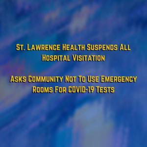 SLH Suspends All Hospital Visitation