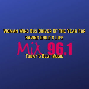 Woman Wins Bus Driver Of The Year For Saving Child's Life