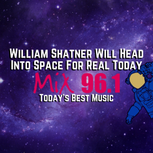 William Shatner Will Head Into Space For Real Today