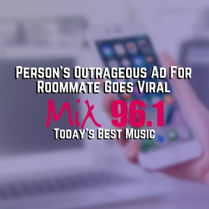 Person's Outrageous Ad For Roommate Goes Viral