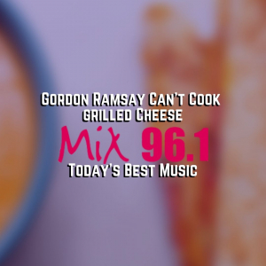 Gordon Ramsay Can't Cook Grilled Cheese