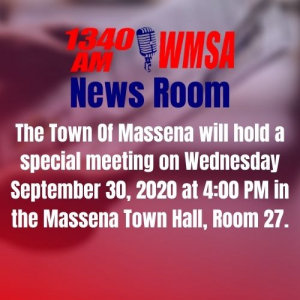 SPECIAL NOTICE: Massena Town Meeting – 2021 Budget