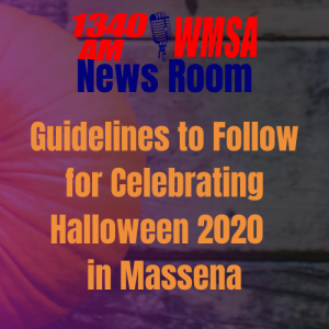 Guidelines to Follow for Celebrating Halloween 2020  in Massena