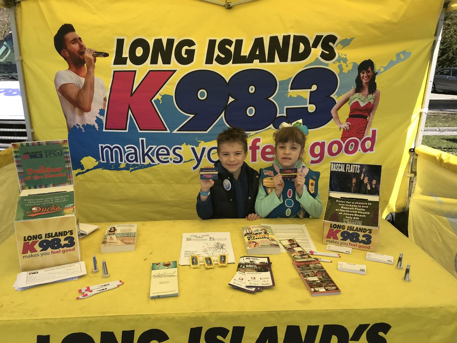 K-98.3 at The Girl Scouts