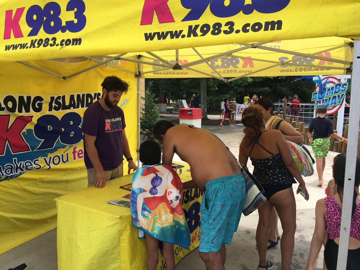 K-98.3 at Splish Splash