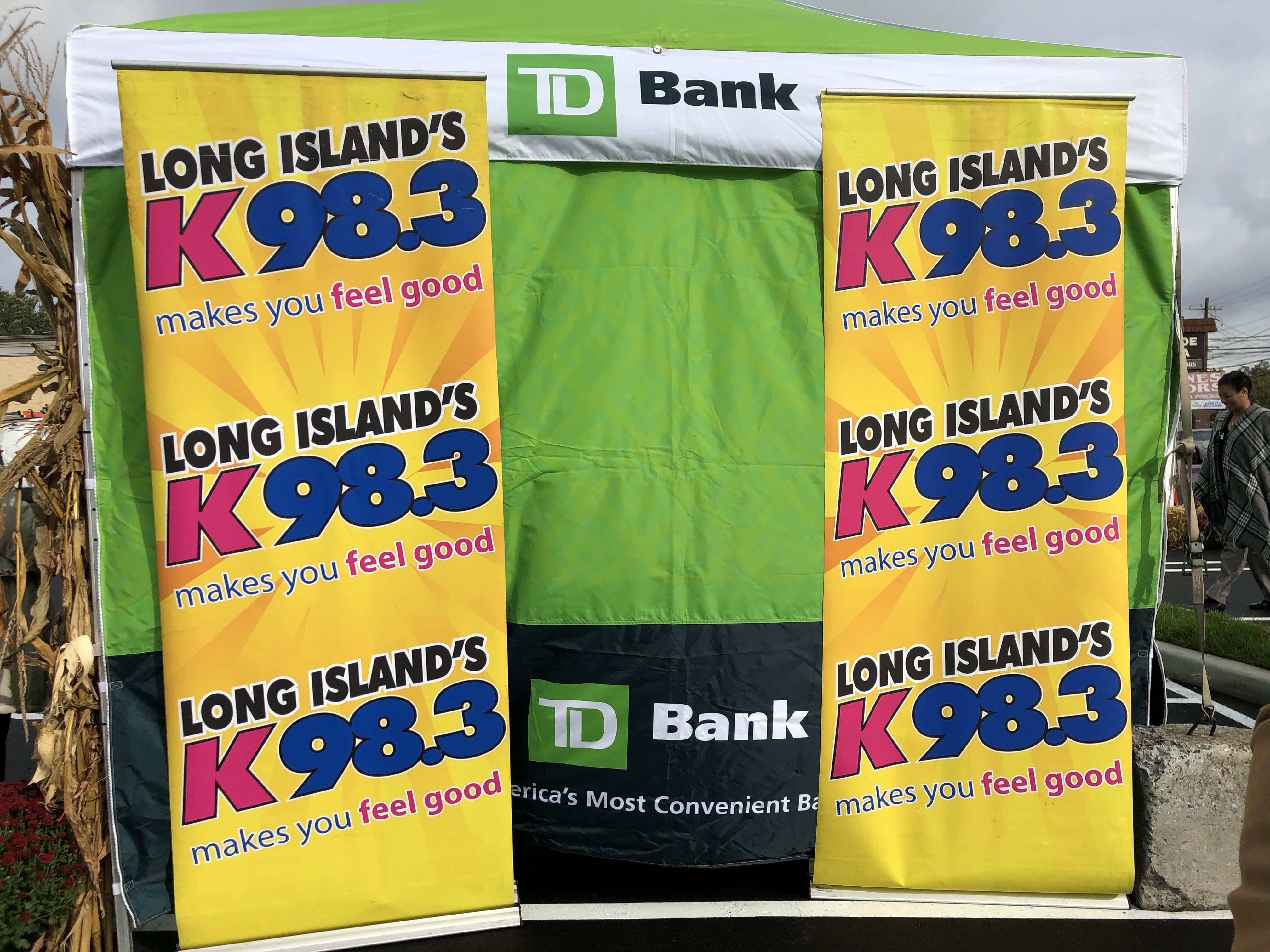 K-98.3 at TD Bank in Franklin Square