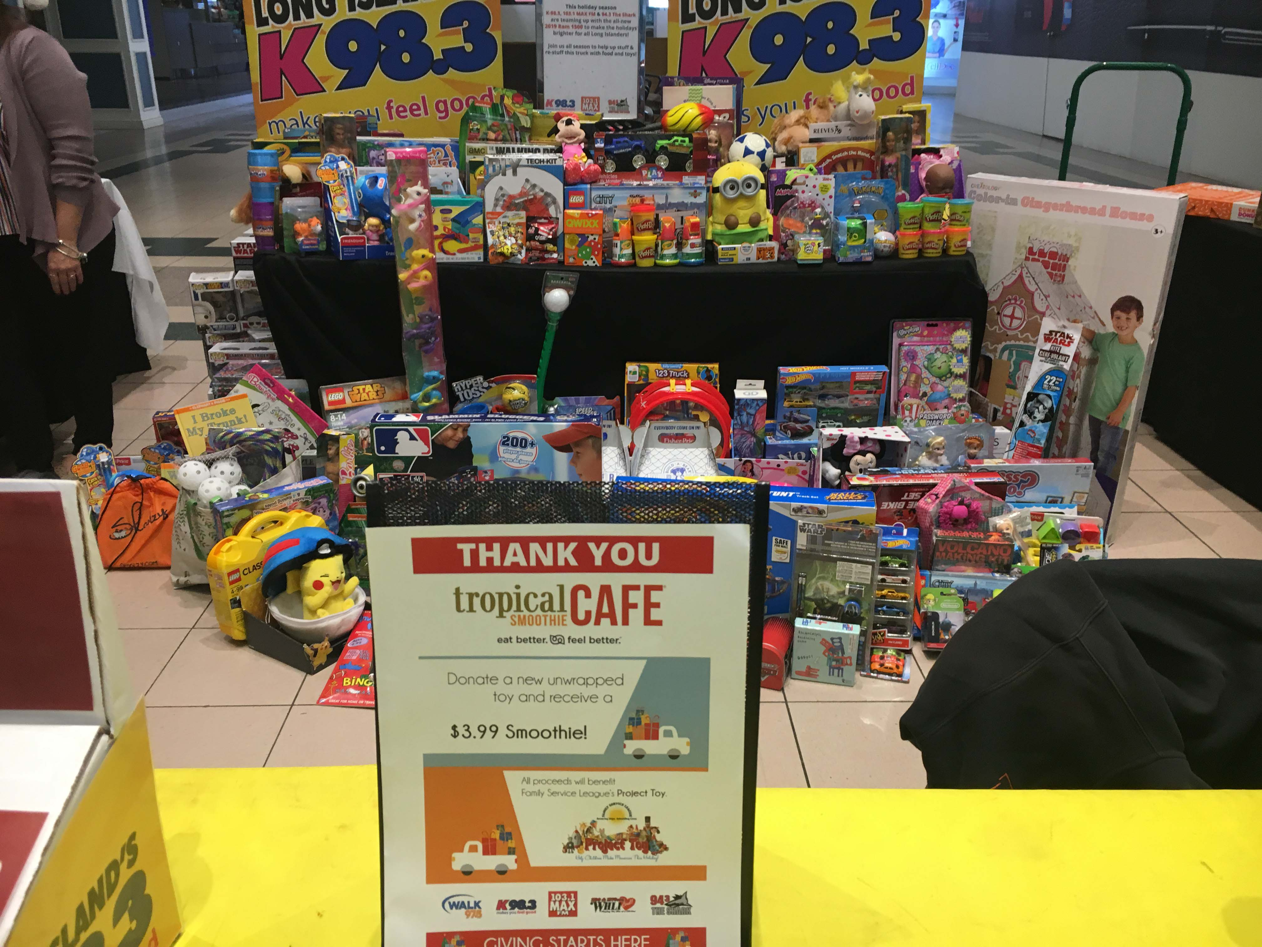 K-98.3's Toy Drive!