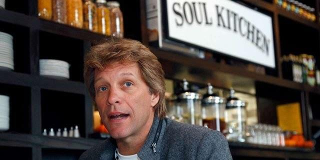 Bon Jovi Gives Free Food to Furloughed Workers!