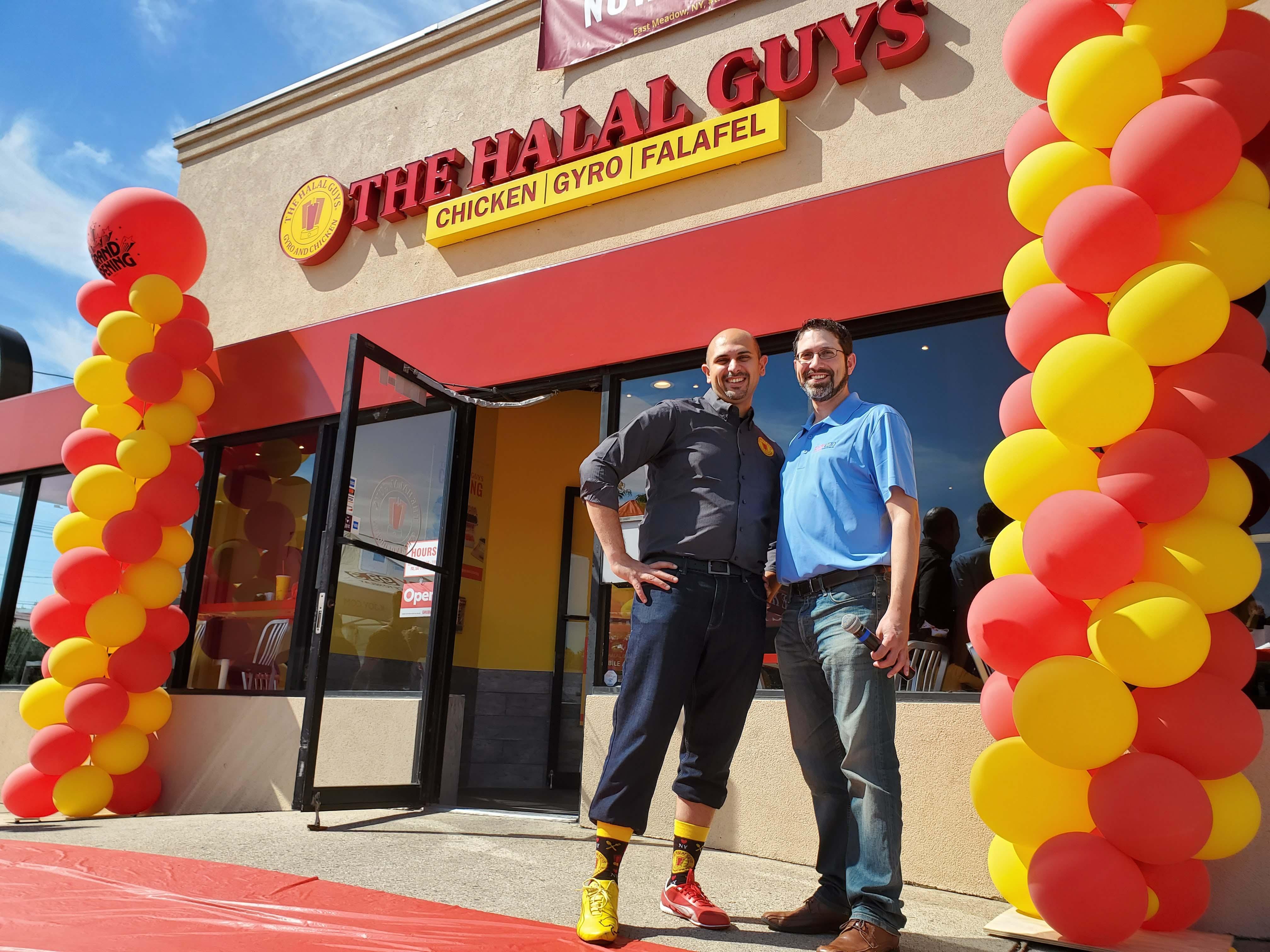 Halal Guys Grand Opening