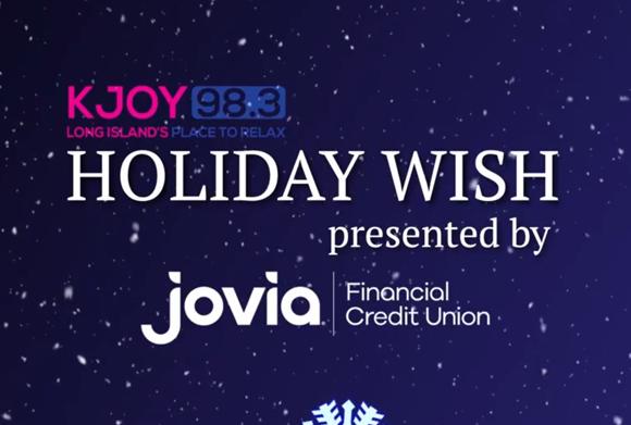 KJOY 98.3 Holiday Wish presented by Jovia Financial Credit Union