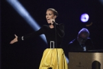 Celine Shines Despite Tech Issues